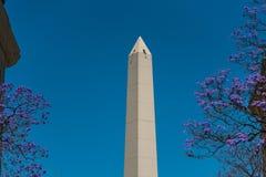 De Obelisk (Gr Obelisco) Stock Afbeelding