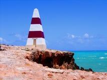 De Obelisk van de robe & Turkooise Overzees stock foto's