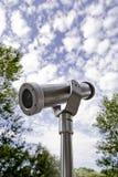 De observatie van de telescoop royalty-vrije stock fotografie