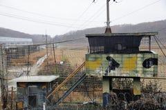 De observatiepost van Korea van het Imjingakpark royalty-vrije stock afbeelding