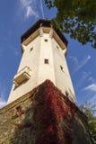 De observatietoren Diana in Karlovy varieert aka Carlsbad, Tsjechische famou Stock Afbeelding