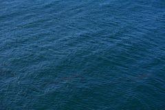 De oceaan Achtergrond van de Oppervlakte Stock Afbeelding