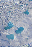 De Oceaan van Acric van lucht stock foto's