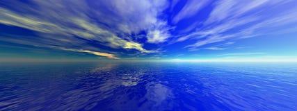 De oceaan van Arcytic Royalty-vrije Stock Foto