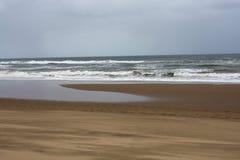 De oceaan van Zuid-Afrika Stock Afbeeldingen