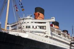 De oceaan Voering van het Schip van de Cruise Royalty-vrije Stock Foto's