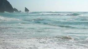 De oceaanaard van het golfwater stock videobeelden