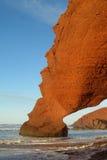 De oceaanboog van de strandsteen Royalty-vrije Stock Afbeeldingen