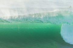 De oceaanclose-up van de Golftextuur Royalty-vrije Stock Afbeelding