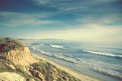 De Oceaankust van Encinitascalifornië Stock Afbeelding