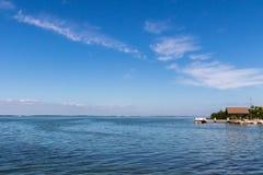 De oceaanmening, Tavernier, sluit Largo, Florida Royalty-vrije Stock Foto's