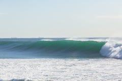 De oceaanmuur van het Golfwater Stock Afbeeldingen