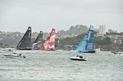 De Oceaanreisonderbreking Race.Auckland van Volvo. Royalty-vrije Stock Fotografie