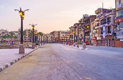 De ochtend in Luxor Royalty-vrije Stock Foto's