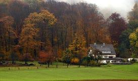 De Ochtend van de herfst Royalty-vrije Stock Afbeeldingen