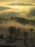 De ochtend van de mysticus Stock Afbeeldingen