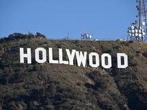 De Ochtend van het Teken van Hollywood Royalty-vrije Stock Foto's