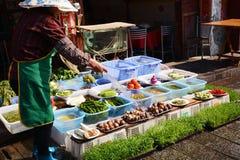 De ochtend van het Yunnanrestaurant Royalty-vrije Stock Afbeelding