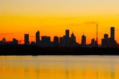 De Ochtend van Melbourne Stock Foto