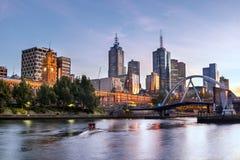 De Ochtend van Melbourne Stock Afbeeldingen