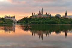 De ochtend van Ottawa royalty-vrije stock afbeeldingen