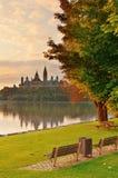 De ochtend van Ottawa stock fotografie