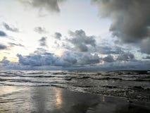De ochtenden zijn een Strand stock afbeelding