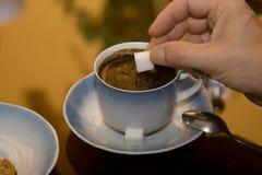 De ochtendkoffie royalty-vrije stock foto