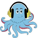 de octopus Stock Afbeelding