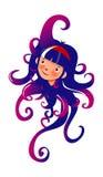De octopus van vrouwen Stock Afbeelding