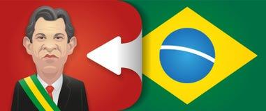 17 de octubre de 2018 - caricatura de Fernando Haddad El Brasil a la izquierda