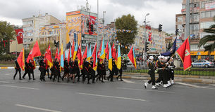 29 de octubre celebración del día de la república de Turquía Fotos de archivo