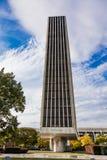 16 de octubre de 2016, Albany, capitolio del Estado de Nueva York, horizonte y edificios del gobierno en octubre Fotos de archivo