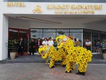 9 de octubre de 2016, camino de Puchong, Kuala Lumpur El hoy es la abertura suave del hotel OUG Kuala Lumpur de la firma de la cu Imagen de archivo libre de regalías