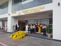 9 de octubre de 2016, camino de Puchong, Kuala Lumpur El hoy es la abertura suave del hotel OUG Kuala Lumpur de la firma de la cu Foto de archivo