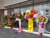 9 de octubre de 2016, camino de Puchong, Kuala Lumpur El hoy es la abertura suave del hotel OUG Kuala Lumpur de la firma de la cu Foto de archivo libre de regalías