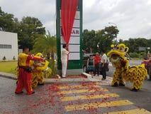 9 de octubre de 2016, camino de Puchong, Kuala Lumpur El hoy es la abertura suave del hotel OUG Kuala Lumpur de la firma de la cu Fotos de archivo libres de regalías