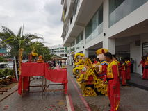 9 de octubre de 2016, camino de Puchong, Kuala Lumpur El hoy es la abertura suave del hotel OUG Kuala Lumpur de la firma de la cu Imagenes de archivo