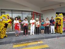 9 de octubre de 2016, camino de Puchong, Kuala Lumpur El hoy es la abertura suave del hotel OUG Kuala Lumpur de la firma de la cu Imagen de archivo