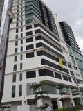 9 de octubre de 2016, camino de Puchong, Kuala Lumpur El hoy es la abertura suave del hotel OUG Kuala Lumpur de la firma de la cu Imágenes de archivo libres de regalías