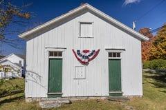 18 de octubre de 2016 - casa de la escuela del sitio de la colina una de Beebe, ciudad de Canaan, CT Imagen de archivo libre de regalías