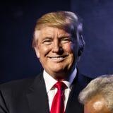15 de octubre de 2016, EDISON, NJ - Donald Trump habla en la reunión de Edison New Jersey Hindu Indian-American para la 'humanida Foto de archivo