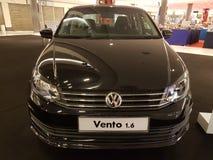 1 de octubre de 2016, Kuala Lumpur Exhibición en el centro comercial de la cumbre USJ, Malasia del coche de Volkswagen Imagen de archivo