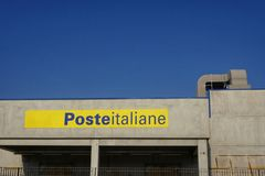 19 de octubre jefaturas de las oficinas de correos italianas en el pescara, Italia fotografía de archivo libre de regalías
