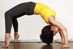 De oefening van de gymnastiek Royalty-vrije Stock Foto's