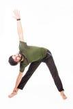 De oefening van Pilates royalty-vrije stock fotografie