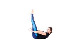 De oefening van Pilates Royalty-vrije Stock Afbeelding