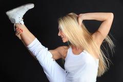 De oefening van sporten Stock Fotografie