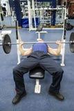 De oefeningen van de geschiktheid, gymnastiek Stock Foto