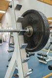 De oefeningsmateriaal van de lichaamsgeschiktheid in de gymnastiek Stock Foto's